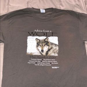 Wolf T-Shirt from Alaska Zoo